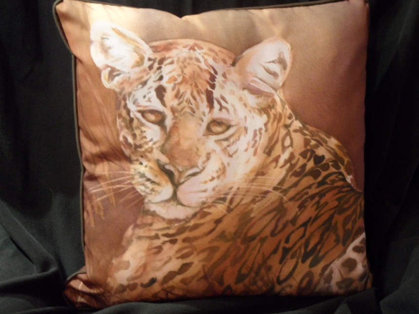 Pillow – When the Leopard Rests
