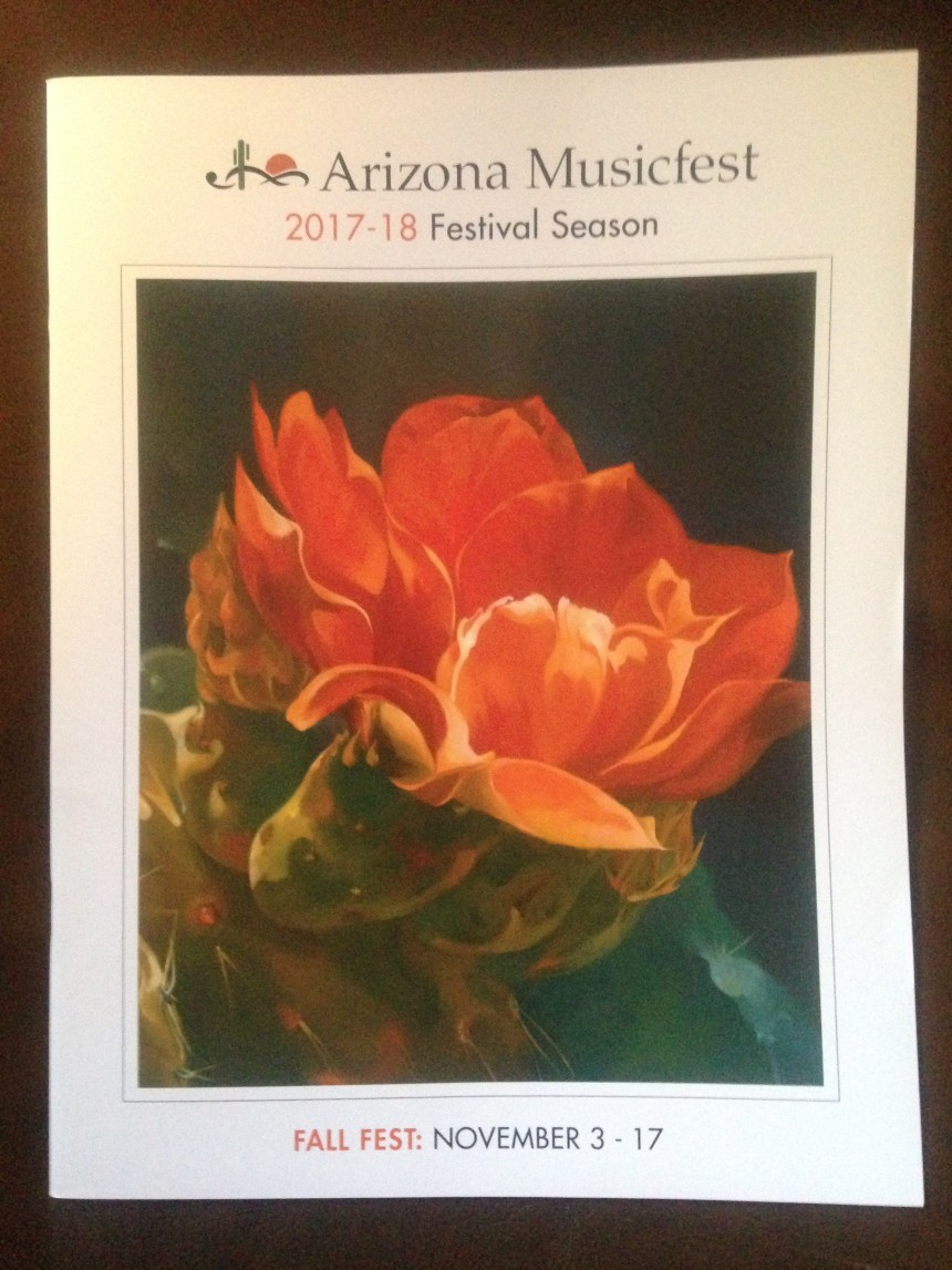 Arizona Musicfest 2017 – 2018 PROGRAM COVER